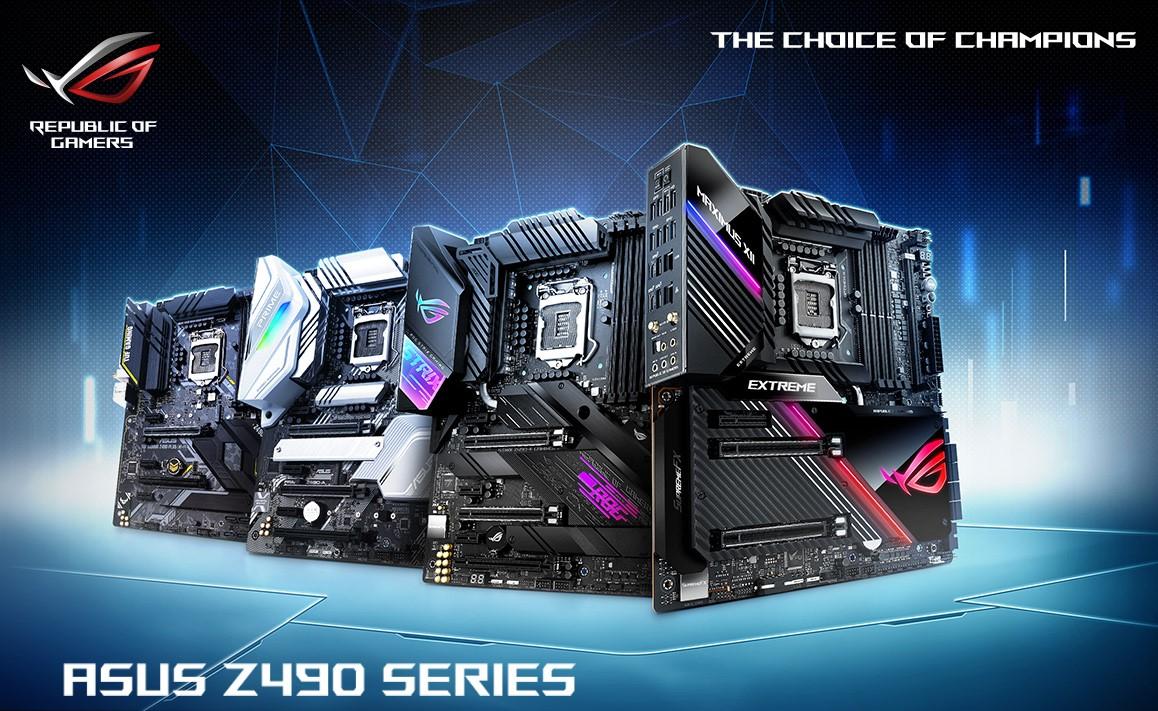 Intel's LGA1200 Socket Motherboards