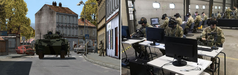 army virtual training