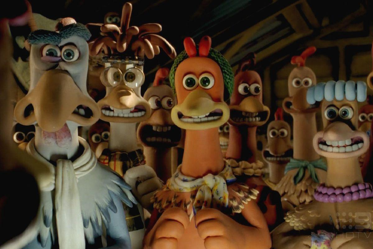 Aardman's Iconic Chicken Run Characters