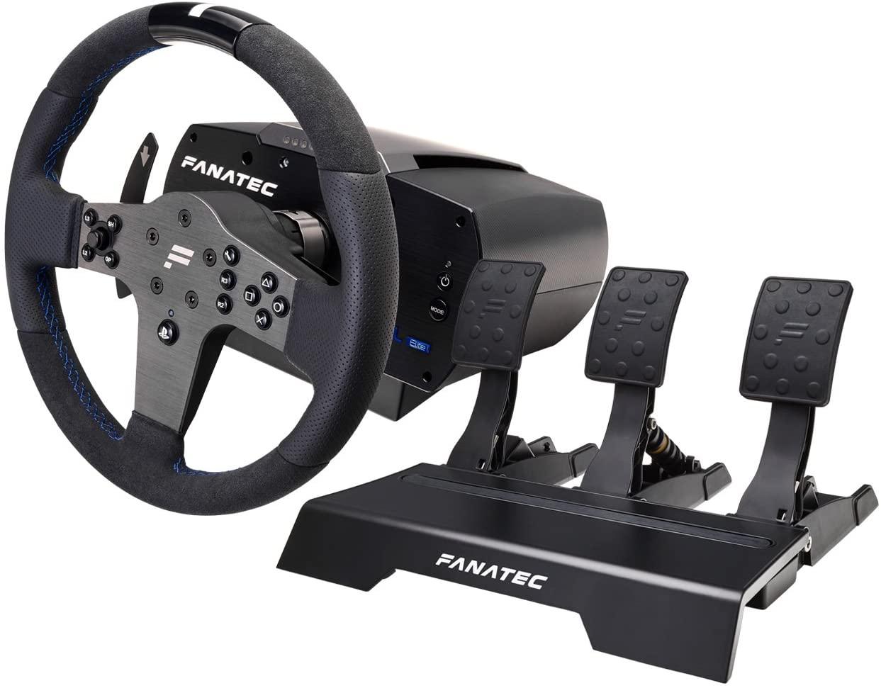 Fanatec CSL Elite Wheel and Pedals