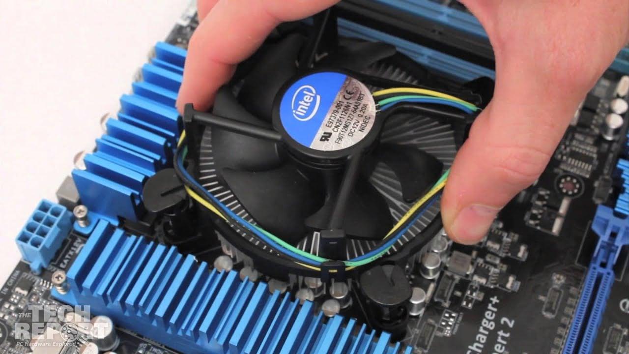 CPU Heat Sink Installation