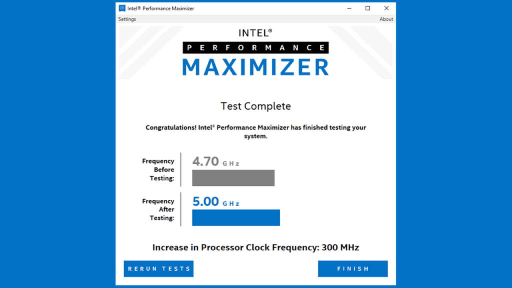 """Intel Performance Maximizer """"one-click"""" overclocks can help improve FPS in games"""