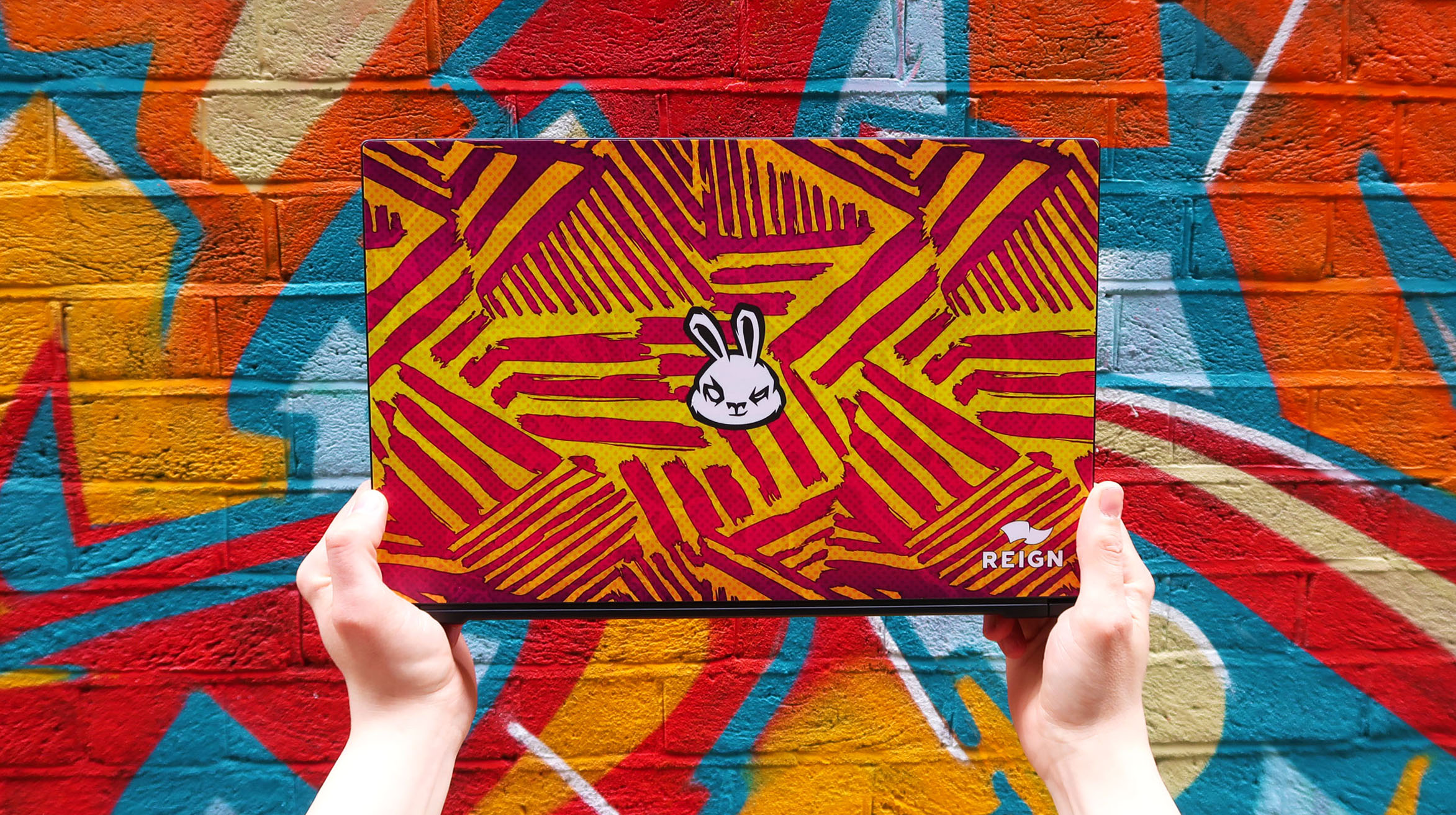 Sneak x Reign Bespoke Custom Gaming Laptop
