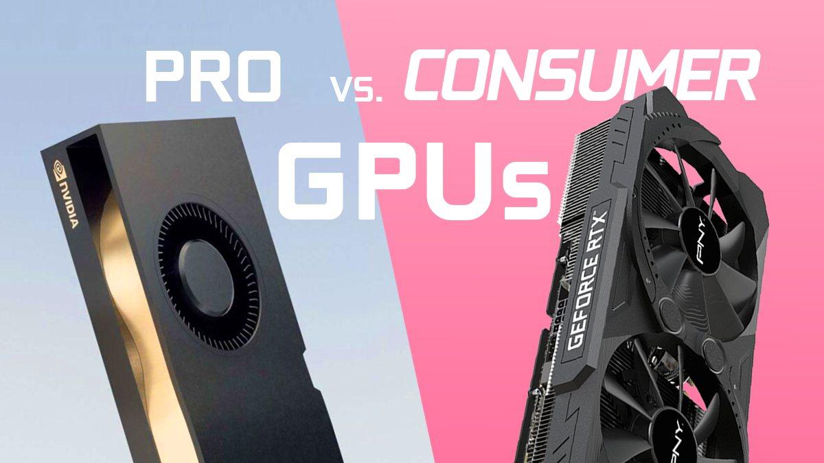 Pro vs Consumer GPUs