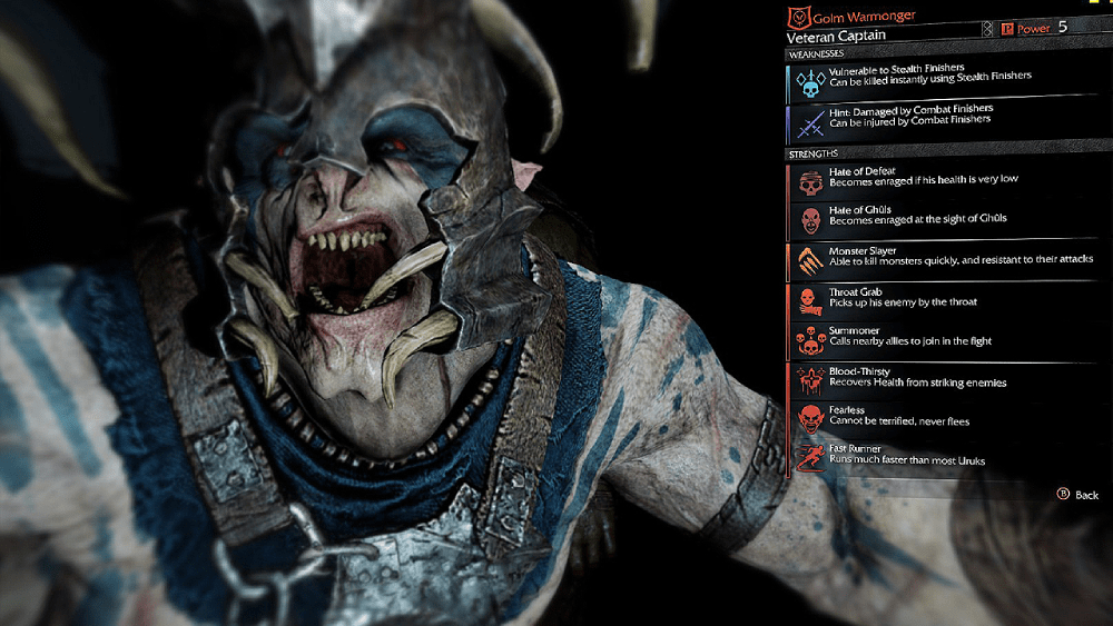 Middle Earth Shadow of Mordor's Nemesis system was an exciting new feature not seen before in video games