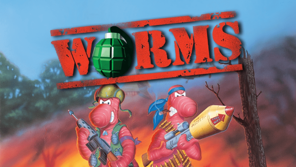 The original Worms game from 1995