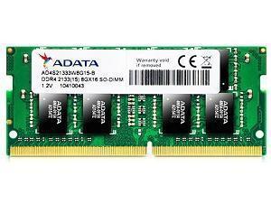 ADATA Premier 8GB 1 x 8GB DDR4 PC4-17000 2133MHz SO-DIMM Memory Module