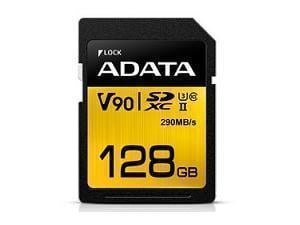 ADATA Premier One 128GB SDXC UHS-II U3 Class 10 SD Card