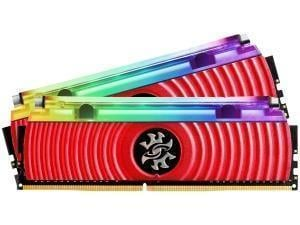 ADATA Spectrix XPG D80 Red Liquid Cooled 16GB 2x8GB DDR4 PC4-28800 3200MHz Memory Module