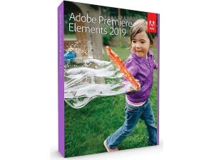 Adobe Premiere Elements 2019 - WIndows, Mac - 1 User - Boxed Product