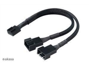 Akasa PWM Fan Splitter Cable 15cm
