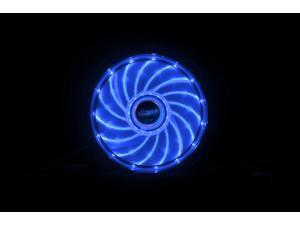 12cm Vegas 15 Blue LED fan with anti-vibe dampening pads