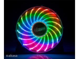 12cm VEGAS 7, Cooling fan with 18 LEDs and 7 colour cycle
