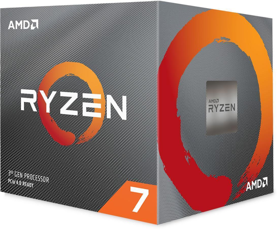 AMD Ryzen 7 3800X Eight-Core Processor/CPU with Wraith Prism RGB LED Cooler