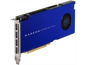 AMD Radeon Pro WX 7100 8GB GDDR5 Professional Graphics Card