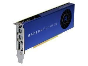 AMD Radeon Pro WX 3100 4GB GDDR5 Professional Graphics Card