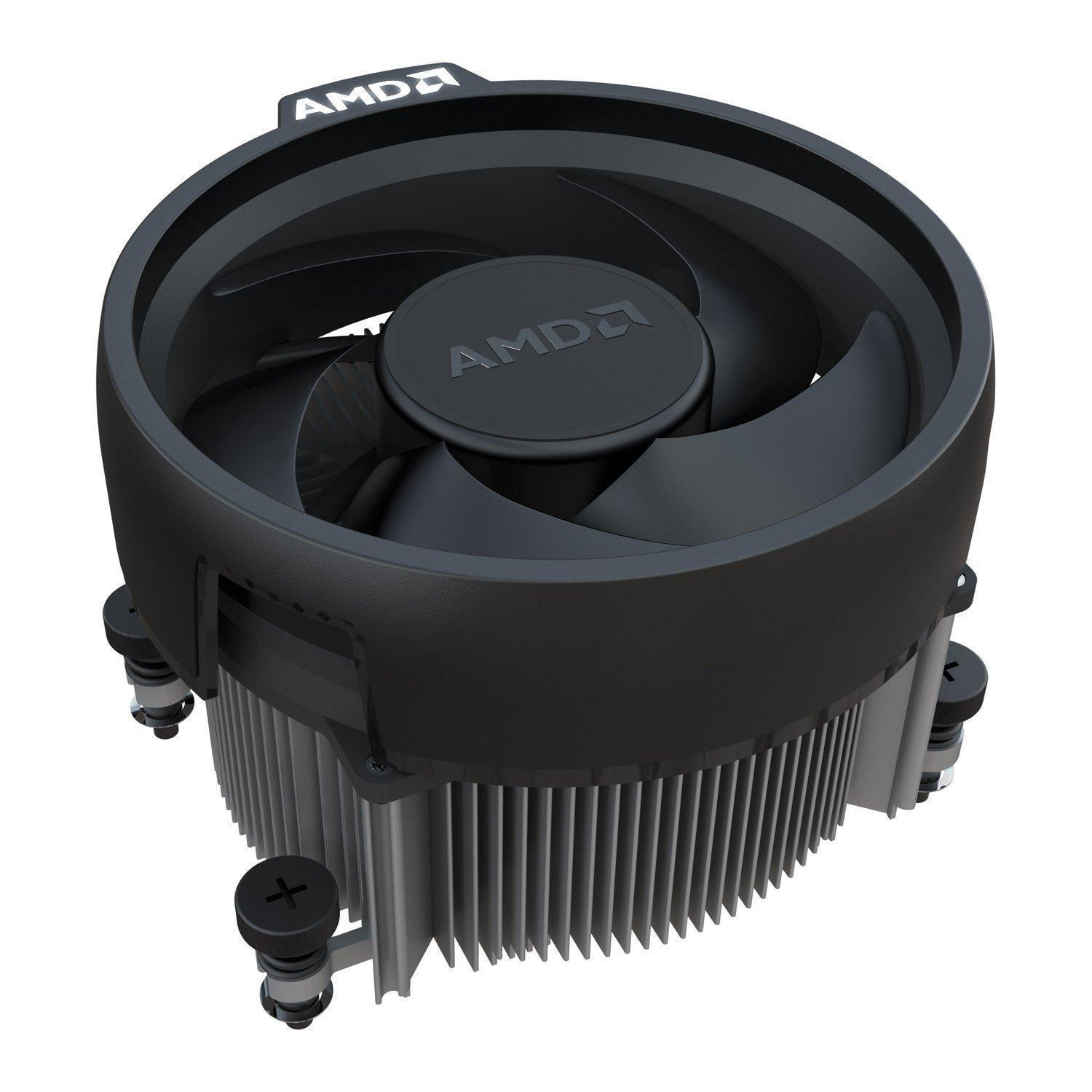 AMD Ryzen 5 2600X Six-Core Processor/CPU with Wraith Spire Cooler