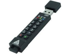 Apricorn Aegis Secure Key 3NX 8GB USB 3.1 Flash Memory Drive