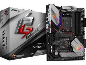 ASRock B550 PG Velocita AMD AM4 B550 Chipset ATX Motherboard