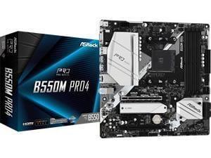ASRock B550 Pro 4 AMD AM4 B550 Chipset ATX Motherboard