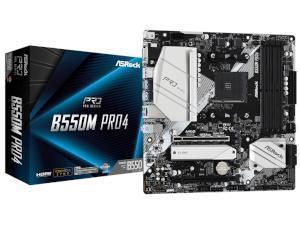 ASRock B550M PRO4 AMD AM4 B550 Chipset m-ATX Motherboard
