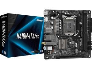 ASRock H410M-ITX/ac LGA 1200 H410 Chipset  m-ITX Motherboard