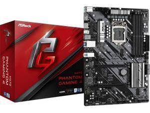 ASRockPhantom Gaming 4  LGA 1200 H470 Chipset ATX Motherboard