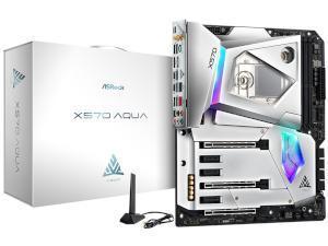 ASRock X570 AQUA LIMITED EDITION AMD X570 Chipset Socket AM4 E-ATX Motherboard