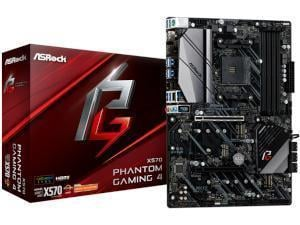 ASRock X570 Phantom Gaming 4 AMD X570 Chipset Socket AM4 ATX Motherboard