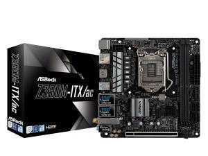 Asrock Z390M ITX/AC Z390 LGA 1151 Mini-ITX Motherboard