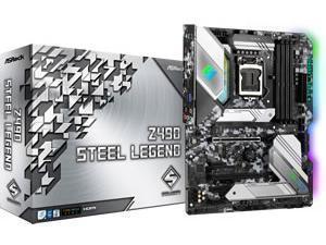 Asrock Z490 Steel Legend LGA 1200 Z490 Chipest Motherboard