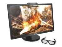 Asus VG278H 27inch TRUE 120Hz 3D Widescreen LED Monitor with NVIDIA 3D Vision 2.0 Glasses