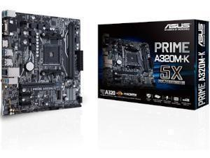 ASUS PRIME A320M-K AMD A320 Chipset Socket AM4 Micro-ATX Motherboard