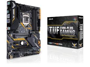 ASUS TUF Z390-PLUS GAMING Intel Z390 Chipset Socket 1151 ATX Motherboard