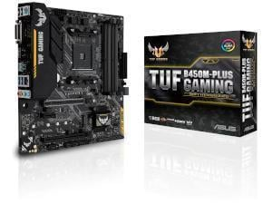 Asus TUF B450M-Plus Gaming AMD AM4 B450 Chipset Micro-ATX Motherboard