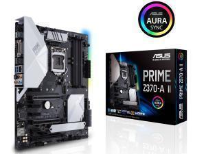 Asus PRIME Z370-A II Socket LGA 1151-V2 ATX Motherboard