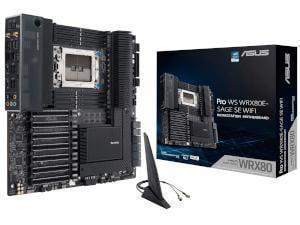 ASUS PRO WS WRX80E-SAGE SE WIFI AMD WRX80 Chipset Socket sWRX8 Motherboard