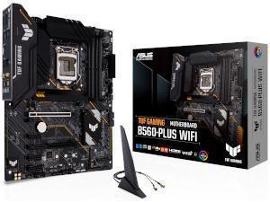 ASUS TUF GAMING B560-PLUS WIFI Intel B560 Chipset Socket 1200 Motherboard
