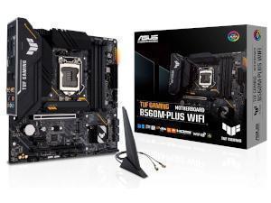 ASUS TUF GAMING B560M-PLUS WIFI Intel B560 Chipset Socket 1200 Motherboard