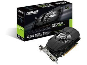 ASUS NVIDIA GeForce GTX 1050 Ti PHEONIX 4GB GDDR5 Graphics Card