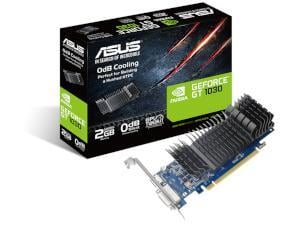 ASUS NVIDIA GeForce GT 1030 Silent / Low Profile 2GB GDDR5 Graphics Card
