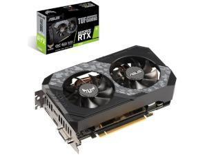 ASUS NVIDIA GeForce RTX 2060 TUF GAMING OC 6GB GDDR6 Graphics Card