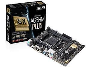 ASUS A68HM-PLUS AMD A68H Socket FM2plus Micro ATX Motherboard