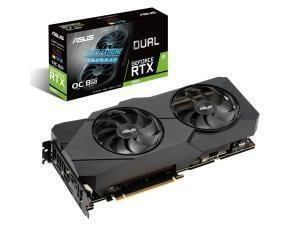 *B-stock item-90 days warranty*Asus Dual GeForce RTX 2080 Super Evo OC Edition 8GB Graphics Card