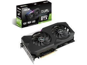 ASUS NVIDIA GeForce RTX 3070 DUAL OC 8GB GDDR6 Graphics Card