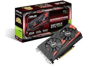 ASUS GeForce Expedition GTX 1050 OC Edition eSports 2GB GDDR5 Graphics Card