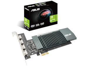 Asus Geforce GT 710 2GB with 4 HDMI ports and Passive Colling Graphics Card