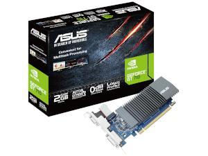 ASUS NVIDIA GeForce GT 710 Silent / Low Profile 2GB GDDR5 Graphics Card