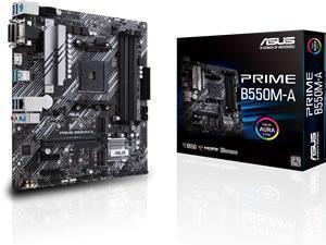ASUS PRIME B550M-A AMD AM4 B550 Chipset mATX Motherboard
