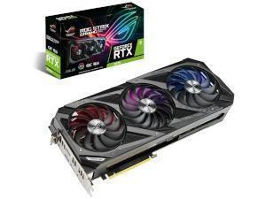 ASUS NVIDIA GeForce RTX 3070 ROG STRIX OC 8GB GDDR6 Graphics Card